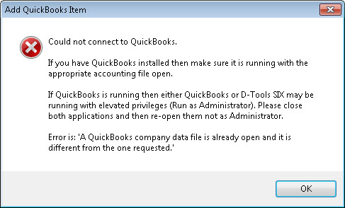 File:SIX_Guide/011_QuickBooks_Integration/Troubleshooting-QuickBooks/Could_not_connect_to_QuickBooks/different_company_file.jpg